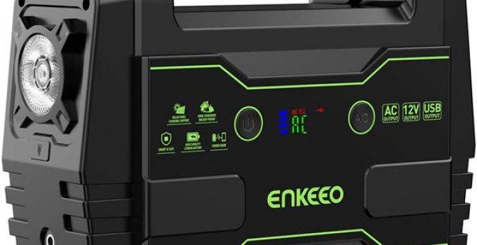 ENKEEO 155Wh/42000mah Station Energie Multifonctions Générateur Energie Solaire
