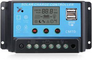 Sunix 20A Contrôleur de charge Régulateur Panneau solaire