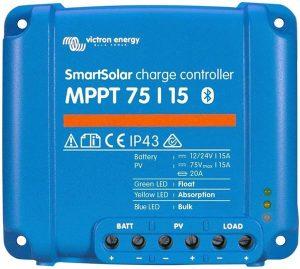 VICTRON ENERGY MPPT 75 – 15 contrôleur de Charge