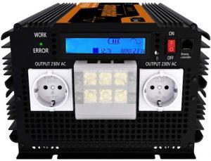 Ecran LCD sur convertisseur pur sinus