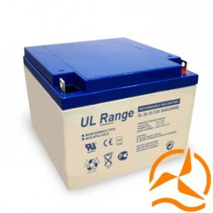 Batterie Gel 12 Volts 26 Ah cyclage profond