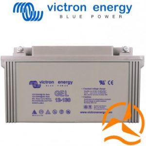 Batterie au Gel à décharge profonde 12 Volts 130 Ah Victron Energy