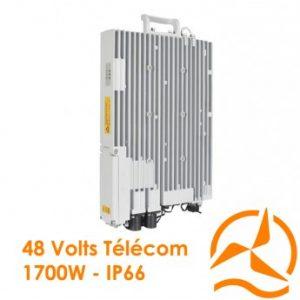 Centrale de puissance DC 1700 W pour sites de relais de télécommunications et pour opérateurs télécoms