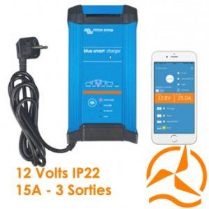 Chargeur de batterie Blue Smart IP22 12V 15A (3) - Victron Energy