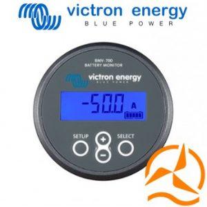Contrôleur de batteries BMV700 9 - 90VDC et shunt 500A Victron Energy