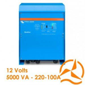 Convertisseur de courant et Chargeur de batterie Quattro 12V 5000VA 220-100/100A - Victron Energy