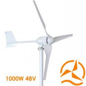 Eolienne 48 Volts 1000 Watts complète nouvelle génération