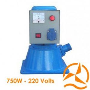 Hydro-turbine électrique Turgo 220 Volts 750 Watts