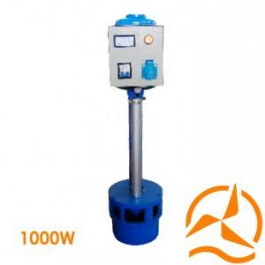Micro turbine hydro-électrique à hélice 220 Volts 1000 Watts basses eaux