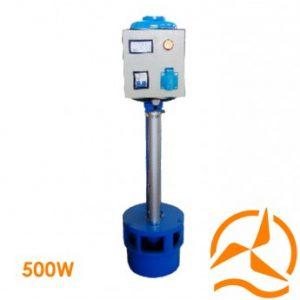 Micro turbine hydro-électrique à hélice 220 Volts 500 Watts basses eaux