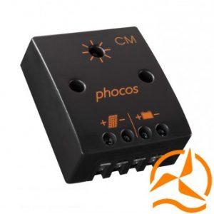 Régulateur économique Phocos 10 Ampères 12 Volts CM10