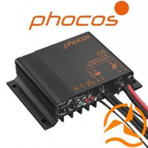 Régulateur Phocos étanche MPPT 20 Ampères 12-24 Volts télécommandé CIS20