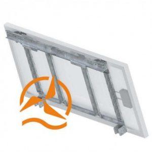 Système de fixation panneau solaire jusqu'à 550 mm de largeur