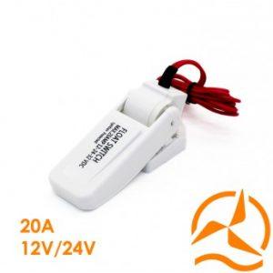 Système de flotteur pour pompe 12/24V 20A nouvelle génération
